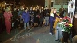 В Симферополе проходит акция скорби по погибшим в Керчи