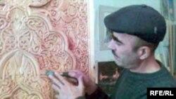 Ҳасан Ҷумъаев ҳангоми кор