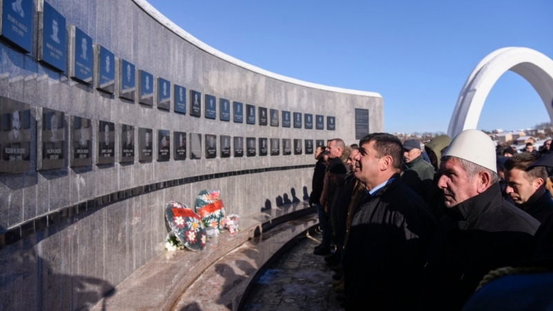 Kosovars Remember 1999 Racak Massacre