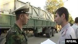 Під час затримання автотранспорту Чорноморського флоту Росії з ракетами