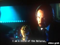 Вось ён, беларускі кілер са знакам якасьці...