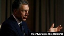 Курт Волкер во время интервью агентству Reuters в Киеве 28 октября 2017