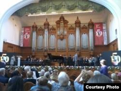 Московская консерватория в юбилейные дни