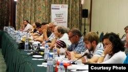 """Во Скопје се одржа регионалната конференција """"Медиумите и јавниот интерес – ризици и предизвици"""", во организација на Центарот за развој на медиуми."""