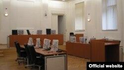 Bosnia-Herzegovina - Courtroom, Cantonal Court, Sarajevo, undated