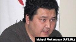"""""""Нұр Отан"""" партиясын жақтаушылар лигасын құрушы Марат Шибұтов."""