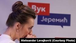 Nataša Jeremić, supruga Vučićevog protivkandidata na izborima, za koju je istaknuti član SNS rekao da je glavni trgovac drogom u Srbiji