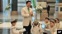 Turkmenistan's 'White' Revolution