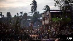 Prizor nakon uragana Eta, Bilwi, Nikaragva, 15. novembar.