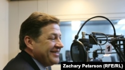 U.S. Congressman Bill Shuster (R-Pa.) during an interview at RFE/RL in Prague