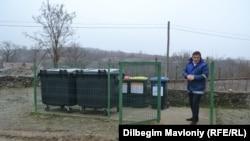 Platforma de colectare separată a deşeurilor din Parcani