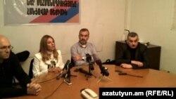 «Նոր Հայաստանի»-ի անդամների մամուլի ասուլիսը Երևանում, արխիվ