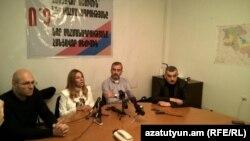 «Նոր Հայաստան»-ի մամուլի ասուլիսը Երևանում, արխիվ