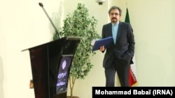 Bahram Ghasemi, Iranian Foreign Ministry Spokesman. File photo