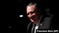 مایک پومپئو وزیر خارجه امریکا/ Source: Francisco Seco (AP)