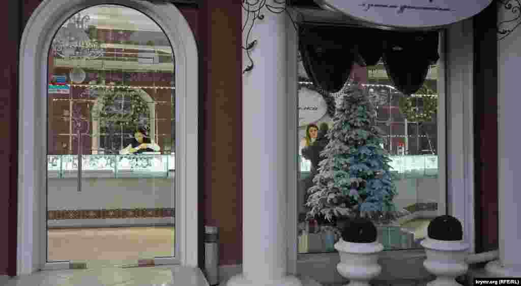 Зимова казка на вулиці Фрунзе