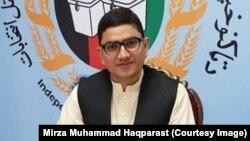 د انتخاباتو خپلواک کمېسیون د ویاند مرستیال میرزا محمد حقپرست