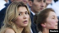 Өзбекстан президенті Ислам Каримовтың қызы Гүлнара Каримова. Ташкент, 31 тамыз 2012 жыл.