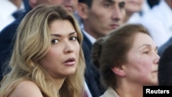 Gulnara Karimova, the daughter of the late Uzbek President Islam Karimov, has not been seen in public since reportedly falling out with her father in 2014. (file photo)