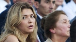 Gulnara Karimova had been a high-profile socialite before she disappeared from public view in 2014. (file photo)