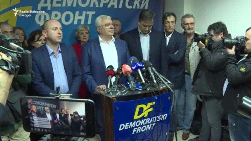 Lideri DF-a pozvali Vučića da prekine komunikaciju s Đukanovićem