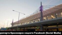 Аэропорт Красноярска, архивное фото