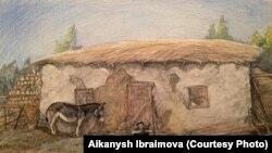Иллюстрации к произведению Чингиза Айтматова «Ранние журавли».