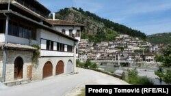 Город Берат в Албании.