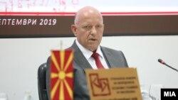 Архивска фотографија - Бранко Азески, претседател на Стопанска комора на Северна Македонија