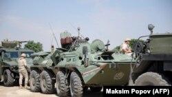 Ruska vojska na tursko - sirijskoj granici, ilustrativna fotografija