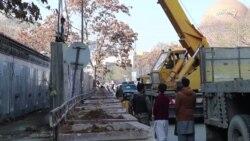 دیوارهای امنیتی وزارت مخابرات رداشته شدند