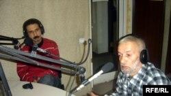 Jurnalist İbrahim Bayandurlu və rəssam-heykəltəraş Mir Teymur