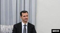 Сиријскиот претседател Башар ал Асад