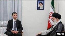 بشار اسد در مصاحبه با صدا و سیمای جمهوری اسلامی از آیتالله خامنهای به عنوان «حضرت امام» نام برده و گفته که با او «رابطهای برادرانه» دارد.
