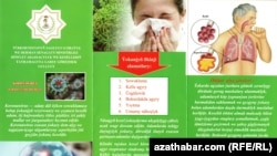 "Authorities in the capital, Ashgabat, have started distributing booklets on ""what to know about the coronavirus"" to hospitals and schools."