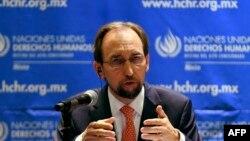 Високиот комесар на Обединетите нации за човекови права Зеид ал Хусеин