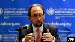 Верховный комиссар ООН по правам человека Зейд Раад аль-Хусейн.