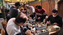 Երևանում կամավորներ նորոգում, վերապրոֆիլավում են հոսանքի անսարք փոխարկիչներն ու ուղարկում Արցախ