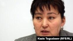 Саясаткер Маржан Аспандиярова. Алматы, 23 сәуір 2012 жыл.