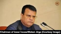 میر رحمان رحمانی رئیس ولسی جرگه افغانستان