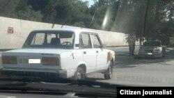 Taksi kimi fəaliyyət göstərən VAZ 2107 markalı maşın. Göndərdi: Elnur