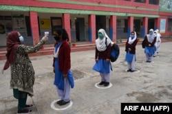 Школа в Пакистане, январь 2021 года