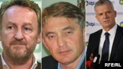 Bakir Izetbegović, Željko Komšić i Fahrudin Radončić