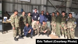 Ерік Теллант під час тренувань у Кабулі, Афганістан, архівне фото