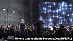 Симфонический концерт в соляной шахте Соледара, 19 декабря 2018 года
