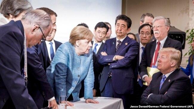 Cаммит G7. Канада, июнь 2017 года