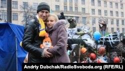 Любовь на баррикадах. Киев, 14 февраля