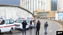 Ливия -- Corinthia отели кол салуудан кийин, 27-январь, 2015