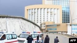 Ливия. Отель Corinthia после нападения.
