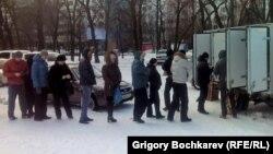 Ростов-на-Дону. Очередь за хлебом